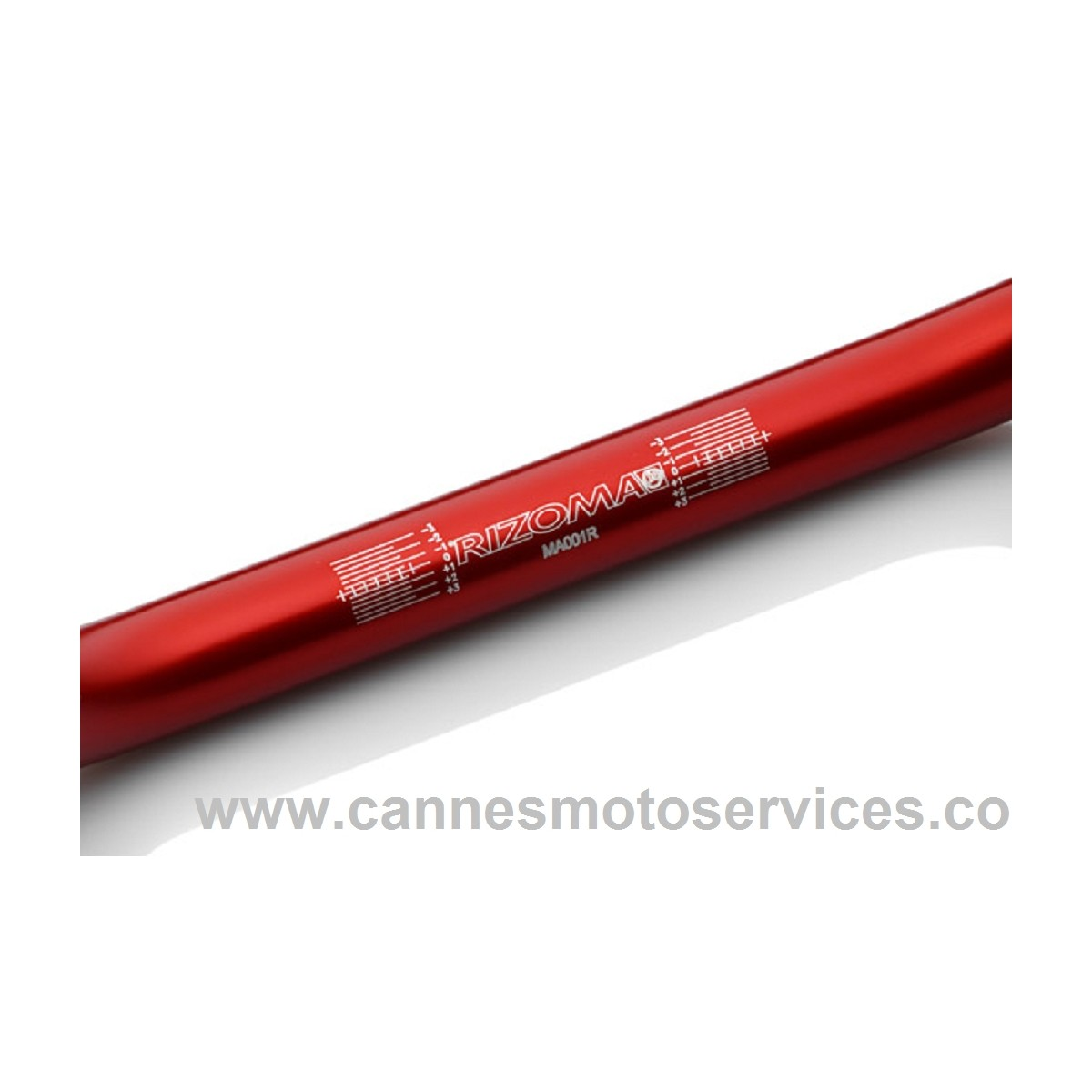 GUIDON STREET DIAM 22 MM ROUGE